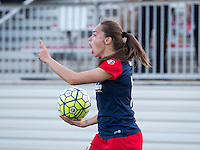 Boyds, MD - April 16, 2016: Washington Spirit forward Estefania Banini (26). The Washington Spirit defeated the Boston Breakers 1-0 during their National Women's Soccer League (NWSL) match at the Maryland SoccerPlex.