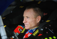 Oct. 30, 2009; Talladega, AL, USA; NASCAR Sprint Cup Series driver Mark Martin during practice for the Amp Energy 500 at the Talladega Superspeedway. Mandatory Credit: Mark J. Rebilas-