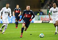 Franck Ribery (FC Bayern Muenchen) - 09.12.2017: Eintracht Frankfurt vs. FC Bayern München, Commerzbank Arena