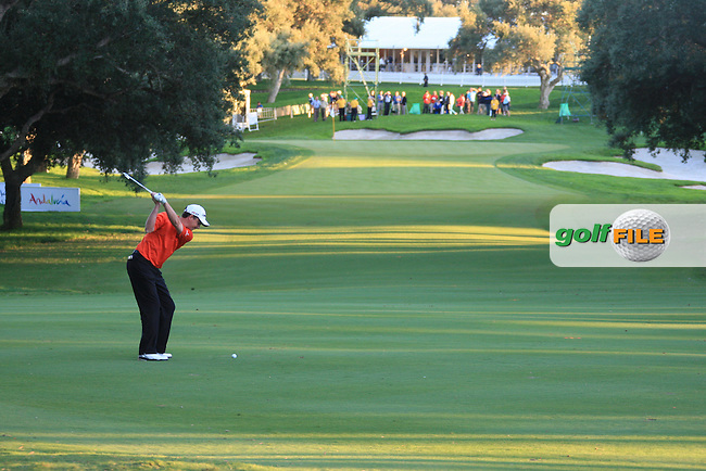 Peter Lawrie (IRL) during the 2nd day at the  Andalucía Masters at Club de Golf Valderrama, Sotogrande, Spain. .Picture Denise Cleary www.golffile.ie
