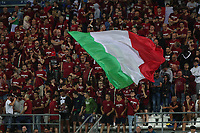 Italy supporters cheer on<br /> Reggio Emilia 22-06-2019 Stadio Città del Tricolore <br /> Football UEFA Under 21 Championship Italy 2019<br /> Group Stage - Final Tournament Group A<br /> Belgium - Italy<br /> Photo Cesare Purini / Insidefoto