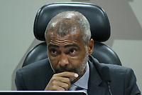 Brasília (DF), 03/07/2019 - Política / Reunião Comissão de Relações Exteriores - Romário, Senador PODE/RJ, Presidente, participa de reunião ordinária da Comissão de Assuntos Sociais do Senado Federal, nesta quarta-feira, 3. (Foto Charles Sholl/Brazil Photo Press/Agencia O Globo) Politica