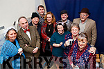 Churchill Players cast who performed 'The Cripple of Inishmaan' at Ardfert Community Centre on Friday night last, l-r: Maggie Griffin, Sean O'Callaghan, John Murray Michael O'Sullivan, Nora Walsh (producer), Triona Daly, Niall O Lionsigh, Aine Quinn, John Scroupe, Veronica Kelly .