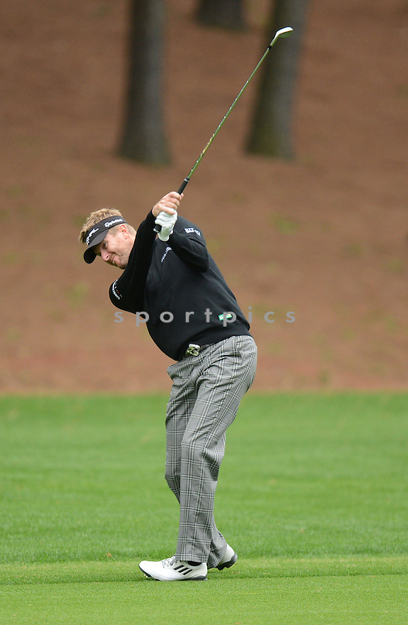 David Lynn during the Wells Fargo Championship the weekend of May 2-5, 2013 at Quail Hollow Club in Charlotte, NC.
