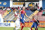 En el encuentro de la cuarta fecha del Clausura 2015, disputado en el Estadio La Libertad, de la capital del Nariño, Deportivo Pasto se impuso 2 – 1 ante el Once Caldas.