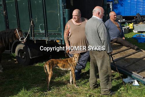 Priddy Horse Fair Somerset Uk 2009 Horse dealers.