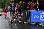 Danilo Wyss (SUI) BMC Racing Team in action during Stage 1, a 14km individual time trial around Dusseldorf, of the 104th edition of the Tour de France 2017, Dusseldorf, Germany. 1st July 2017.<br /> Picture: Eoin Clarke | Cyclefile<br /> <br /> <br /> All photos usage must carry mandatory copyright credit (&copy; Cyclefile | Eoin Clarke)