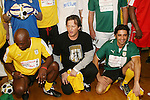 Jimmy Jean-Louis - Heroes, Costas Mandylar and Gilles Marini at the Celebrity soccer game to benefit Hollywood United for Haiti at 1st Setanta Cup Soccer Festival on April 11, 2009 at Chelsea Pers, NYC. (Photo  by Sue Cofln/Max Photos)
