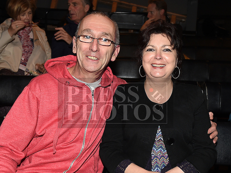 Declan Gorman and Sharon Gorman at the Stagemad Theatre Company's production of 'Foxy Divil' at The Little Duke Theatre. Photo:Colin Bell/pressphotos.ie