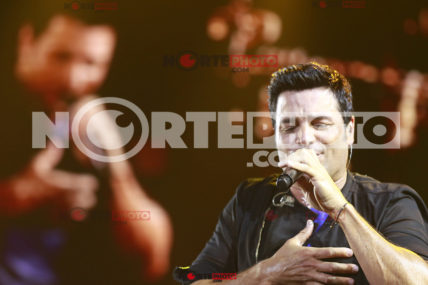 The dancer, singer and Puerto Rican actor Chayanne, during the night of his concert at The AXIS at Planet Hollywood in Las Vegas Nevada on 13 Sep 2015.