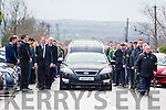 Patrick (Paddy) Curtin's funeral at The Church of the Assumption Moyvane on Sunday
