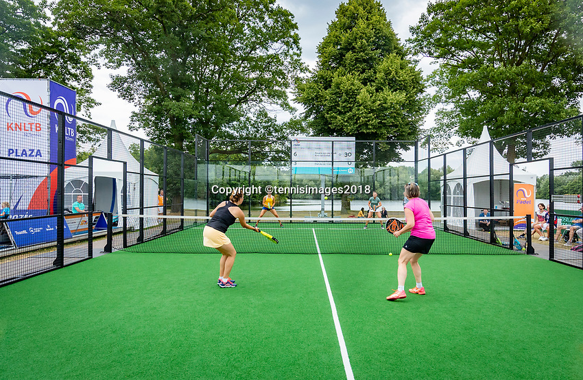 Den Bosch, Netherlands, 16 June, 2018, Tennis, Libema Open, Final Padel women<br /> Photo: Henk Koster/tennisimages.com