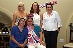 Rachel Grant with her bridesmaids at her Hen Party in The Star and Crescent....Photo NEWSFILE/Jenny Matthews.(Photo credit should read Jenny Matthews/NEWSFILE)....This Picture has been sent you under the condtions enclosed by:.Newsfile Ltd..The Studio,.Millmount Abbey,.Drogheda,.Co Meath..Ireland..Tel: +353(0)41-9871240.Fax: +353(0)41-9871260.GSM: +353(0)86-2500958.email: pictures@newsfile.ie.www.newsfile.ie.FTP: 193.120.102.198.