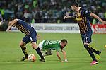 Atlético Nacional venció en Medellín 3-1 a Rosario Central de Argentina y clasificó a las semifinales de la Copa Libertadores 2016. El global fue de 3-2.