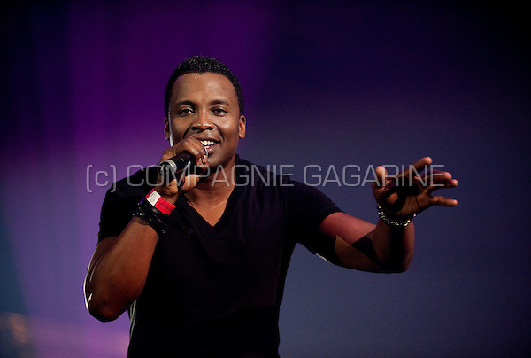 Haddaway performing at the Back To The 90's event in the Sportpaleis, Antwerp (Belgium, 05/04/2009)