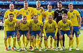 June 1th 2017, Ullevaal Stadion, Oslo, Norway; International Football Friendly 2018 football, Norway versus Sweden; Sweden team line up during the International Football Friendly match