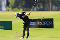 Tommy Fleetwood (ENG) plays his 2nd shot on the 16th hole during Friday's Round 2 of the 2018 Turkish Airlines Open hosted by Regnum Carya Golf &amp; Spa Resort, Antalya, Turkey. 2nd November 2018.<br /> Picture: Eoin Clarke | Golffile<br /> <br /> <br /> All photos usage must carry mandatory copyright credit (&copy; Golffile | Eoin Clarke)