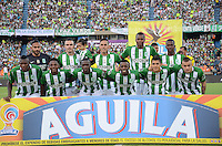 MEDELLIN-COLOMBIA- 30-10-2016. Acción de juego entre el  Atlético Nacional y   Patriotas FC  durante encuentro  por la fecha 18 de la Liga Aguila II 2016 disputado en el estadio Atanasio Girardot./ Action game between  Atletico Nacional and  Patriotas FC  during match for the date 18 of the Aguila League II 2016 played at Atanasio Girardot stadium . Photo:VizzorImage / León Monsalve / Contribuidor