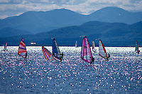 Lake Champlain is the 6th largest lake in the USA.  It is the next largest lake after the Great Lakes and in fact there was a bill proposed in Congress to make it part of the Great Lakes.  The bill failed, but LC is the Greatest Lake.  It borders Vermont, Upstate New York and Canada.  It is 15 miles wide, 115 miles long and 400 feet deep.