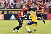 Atlanta, Georgia - Saturday, June 24, 2017: Atlanta United defeated the Colorado Rapids,  1-0, in front of the club's seventh consecutive home sellout at Bobby Dodd Stadium.