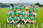 The John Mitchels Feile Team who played Kerins O'Rahillys at Strand Road on Friday.