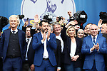 European Elections Far Right leaders Rally in Milano, Italy on May 18, 2019; Geert Wilders (Nertherlands), Matteo Salvini (Leader of Italy's La Lega), Joerg Meuthen (AFD), Marine Le Pen (RN), Veselin Mareshki (Bulgaria)