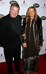 BEVERLY HILLS, CA. - October 11: Actor William Shatner and wife Elizabeth  arrive at St. Jude's 5th Annual Runway For Life Benefit at the Beverly Hilton Hotel on October 11, 2008 in Beverly Hills, California.
