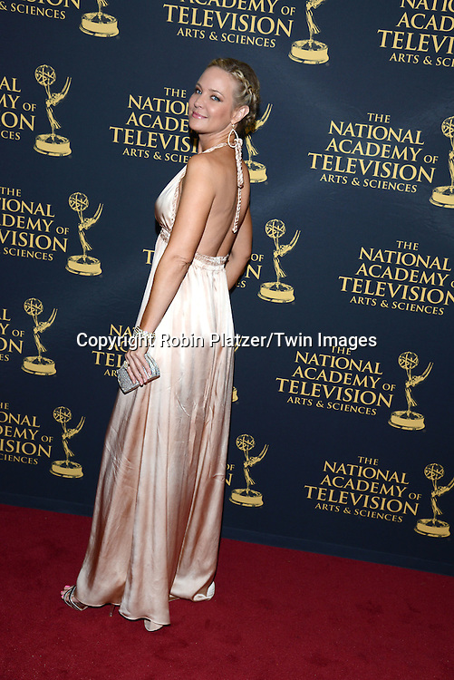 Sharon Case attends the Creative Arts Emmy Awards on April 24, 2015 at the Universal l Hilton in Universal City,<br /> California, USA.
