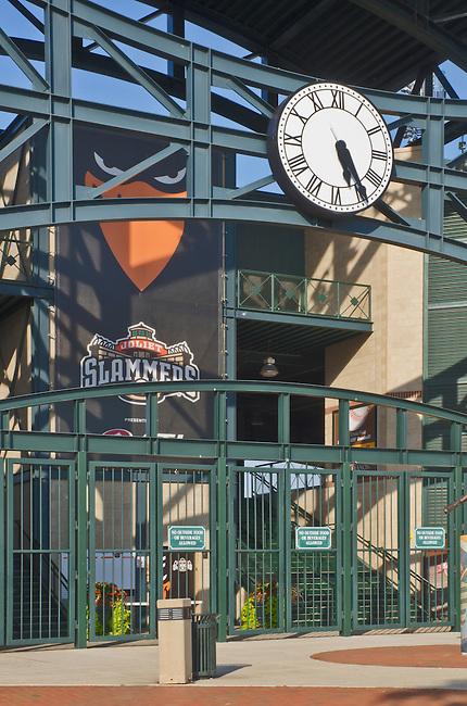 Silver Cross Field in Joliet, Illinois is the home of the Joliet Slammers Monor League Baseball Team