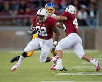 STANFORD, CA - August 31, 2012: Anthony Wilkerson during Stanford's game vs San Jose State. Stanford won 20-17.