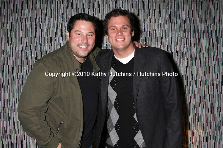 Phill HGreg Grunberg & Bob Guiney.attending The Julep Ball Kentucky Derby Prelude Party .The London West Hollywood Hotel Rooftop .Los Angeles, CA.January 14, 2010.©2010 Kathy Hutchins / Hutchins Photo....