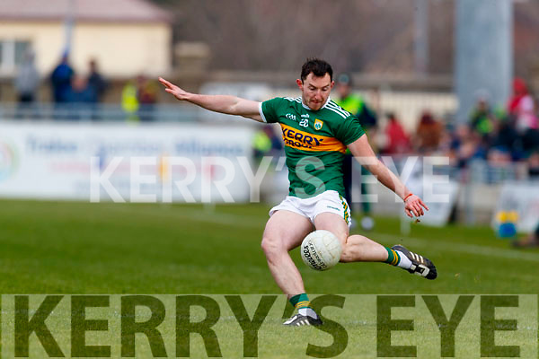 Dáithí Casey Kerry in action against  Galway in the Allianz Football League Division 1 Round 4 match between Kerry and Galway at Austin Stack Park, Tralee, Co. Kerry.