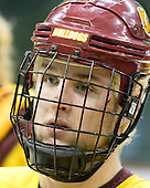 Mike Connolly (Duluth - 22) - The University of Minnesota-Duluth Bulldogs practiced on Friday morning, April 8, 2011, during the 2011 Frozen Four at the Xcel Energy Center in St. Paul, Minnesota.