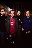 SEPULTURA - L-R: Paolo Jr, Max Cavalera, Andreas Kisser, Igor Cavalera - photosession in London UK - 28 Feb 1996.  Photo credit: George Chin/IconicPix