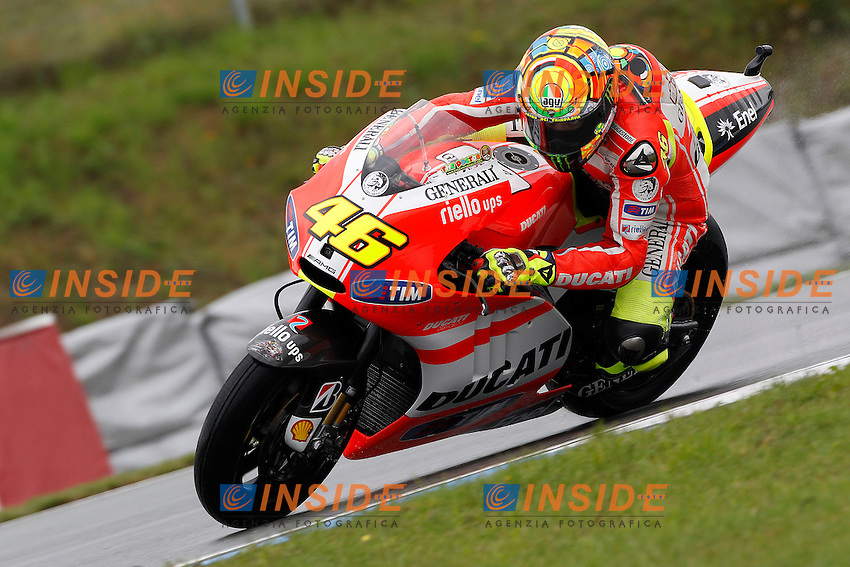 .13-08-2011 Brno (CZE).Motogp - Motogp.in the picture: Valentino Rossi - Ducati team