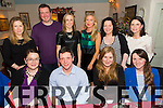 Friends night out celebrating Christmas at Cassidys on Friday.  Front l-r Aoife Lynch, Richard Liston, Sharon Hayes, Deirdre Flynn.  Back l-r Ashling O'Sullivan, Stephen O'Halloran, Marguerite Fitzgerald, Sarah Quill, Diane Reidy, Barbara Liston
