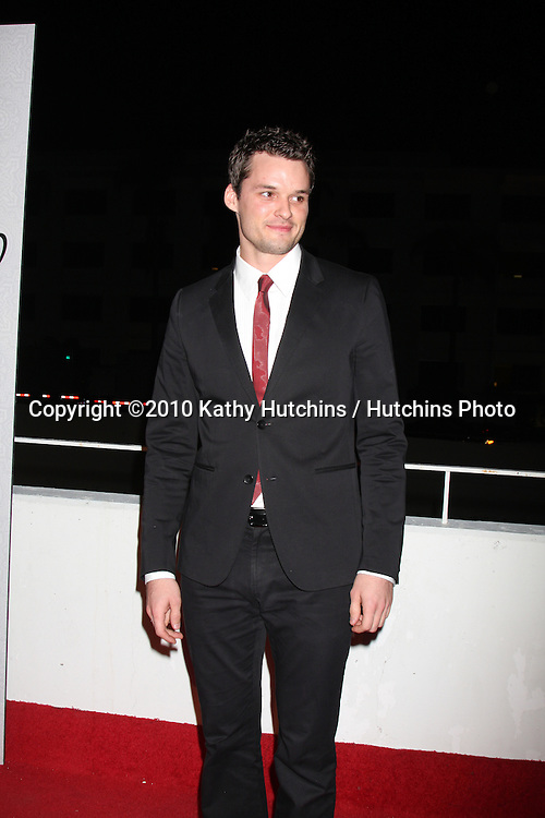 Austin Nichols.arriving at the 3rd Annual Art of Elysium Gala.Rooftop of Parking Garage across from Beverly Hilton Hotel.Beverly Hills, CA.January 16, 2010.©2010 Kathy Hutchins / Hutchins Photo....