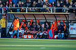 UTRECHT - de bank van Oranje,   tijdens   de Pro League hockeywedstrijd wedstrijd , Nederland-China (6-0) . rechts Guo Qiu (China)   COPYRIGHT  KOEN SUYK