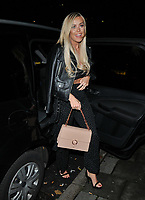Chloe Meadows at the Abbott Lyon x Chloe Lewis Christmas Campaign launch, Vanilla London, Great Titchfield Street, London, England, UK, on Wednesday 07 November 2018.<br /> CAP/CAN<br /> &copy;CAN/Capital Pictures
