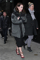 NEW YORK, NY - February 11: Lena Headey seen in New York City while promoting Fighting With My Family on February 11, 2019. Credit: RW/Mediapunch