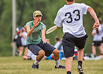 21 May 2016: The Vermont Commons School Flying Turtles take on Longmeadow High School JV on the first day of the Pioneer Valley Ultimate Disk Invitational Tournament at the Oxbow Marina Fields in Northampton, Massachusetts. The Turtles defeated Longmeadow 15-3 in their third game of the tournament. Mandatory Credit: Ed Wolfstein Photo *** RAW (NEF) Image File Available ***