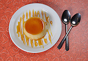 A dessert flan served at the BelAir Cantina in Milwaukee. Ernie Mastroianni photo.
