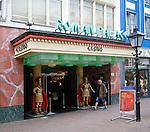 Roman Palace casino on Oude Binnenweg street, Rotterdam, Netherlands