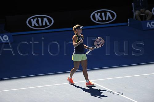 18th January 2018, Melbourne Centre, Melbourne, Australia; Australian Open Tennis;  Angelica Kerber