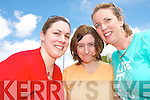 CHARITY TIME:Teachers  from Castleisland Community College who took part in a Charity Walk on Friday last for former student Christina fleming who  is travelling to India on July 6th for seven week as a volunteer with SERVE..L/r. Juanita Lovette, Veronica Hanlon and Theresa Landers.   Copyright Kerry's Eye 2008