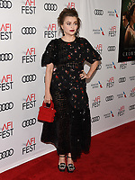 """16 November 2019 - Hollywood, California - Helena Bonham Carter. AFI FEST 2019 Presented By Audi – """"The Crown"""" Premiere held at TCL Chinese Theatre. Photo Credit: Billy Bennight/AdMedia"""