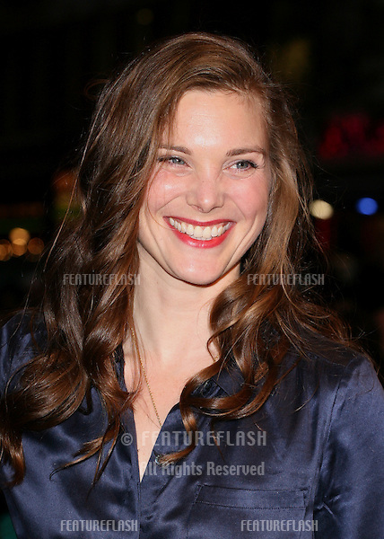 Liz White arriving at the film premiere of 'Wild Bill' at The Vue West End, London. 21/10/2011  Picture by: Alexandra Glen / Featureflash