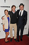 "BEVERLY HILLS, CA - NOVEMBER 27: Vanessa Lengies, Sam Trammell and Mike O'Malley arrive at the Los Angeles premiere of ""Certainty"" at the Lamelle Music Hall on November 27, 2012 in Beverly Hills, California."
