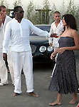 P Diddy & Penelope Cruz in StTropez 07/29/2007