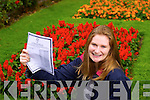 Presentation secondary Tralee student Grace Carton who got 6A1s and 2A2s in her leaving Cert.